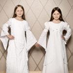Kommunionbekleidung für Zwillingspärchen