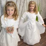 Zauberhaftes Leinen / Baumwoll / Kleid Fairydream.